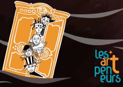 23, 24 et 25 août à 20h00 à Champbaillard ODYSSEUS CLOWN FANTASY – LES ARTPENTEURS