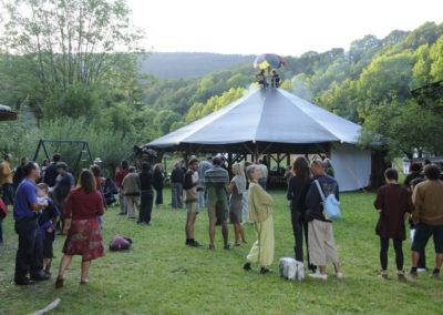 30th birthday of Jan Reymond, Romainm™tier (VD), Switzerland, 22 August 2009