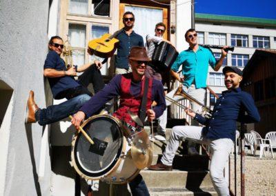 Vendredi 24 juillet à 21h00 Pichette Klezmer Band