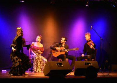 Samedi 14 août à 21h00 Yolanda Almodovar Flamenco Band